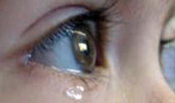 Son larme, son âme