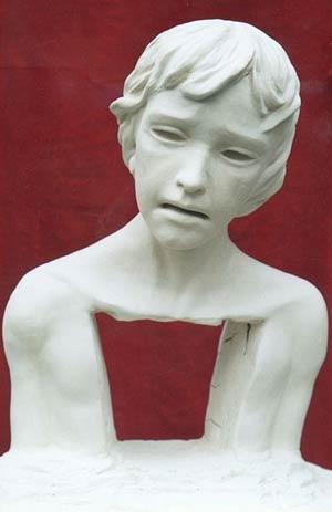 Louis XVII enfant martyr, oeuvre de Catherine Cairn